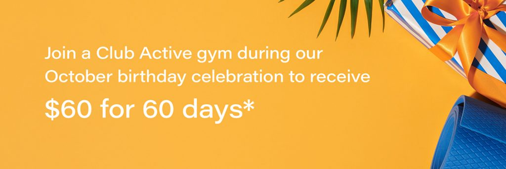 $60 for 60 days - Oct Burleigh 1st Birthday Membership Sale